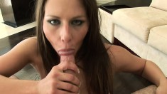 Rachel Roxxx looks good on the end of his dick sucking in POV
