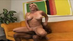 Stunning Kayla Prettyman devours a cock before riding it hard