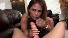 Monique Fuentes is a hot Latina MILF who is one hell of a fuck
