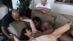 He likes to watch his wife get dicked by another man nailing her
