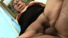 Curvy mature lady Doris has a fiery pussy needing to be drilled hard