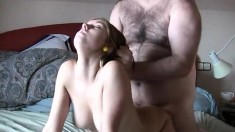 Lovely Latin Babe Rides A Cock Babe Blowjob Hardcore