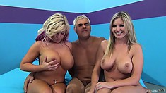 Brianna Brooks And Heidi Hollywood get nasty and naked with a friend
