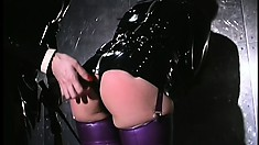 Every slave of hers must be clad in the tightest and finest latex