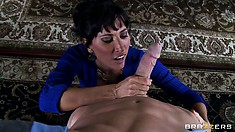 Lezley Zen gives head to her sex therapist... Isn't this what therapy is about?