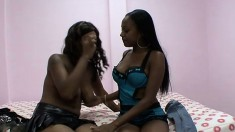 Kendra drops her clothes and engages in lesbian sex with her girlfriend
