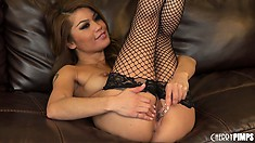 Unpredictable actress Charmane Star is on her way to cum hard tonight