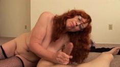 Pov Amateur Redhead Hottie Giving Titjob And Tugjob