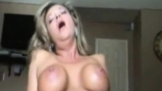 Big black cock guy fucking a big boobs