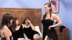 So Hot Lesbian Milf Group Sex In 0