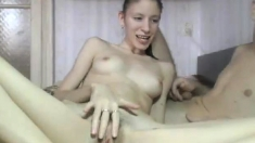 Teen With Her Hairy Pussy On Webcam