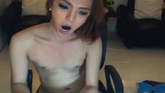 Pretty Trans Plays Her Ladycock