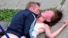 Russian Amateur Fucking Outdoor
