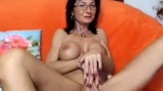 Boobs Exercises With Horny Busty Milf