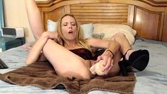Anilos Angel Wicky Blonde orgasm Solo MILF Toys