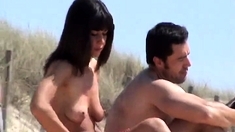 Small girls getting fucked on beach