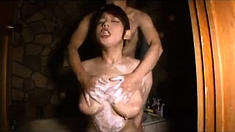 Asian Teacher Does Student In The Shower Asian