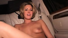 Riley Brooks loves to play with rock-hard addictive beaver bashers