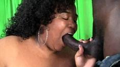 Edible Fat Bbw Black Slut Drilled By Big Black Cock