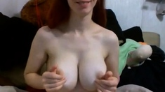 Big massive boobs tits with small nipples