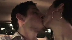 Short haired babe goes out on a blind date and ends up getting fucked